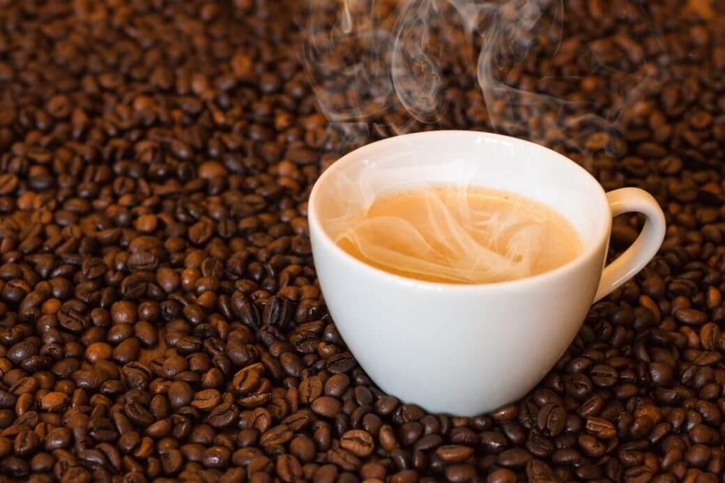 Kaffebönor till perkolator